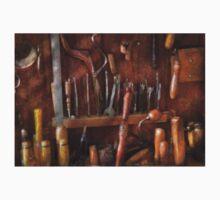 Woodworker - Old tools Kids Tee