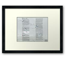 WW2 Warbirds part6 Framed Print