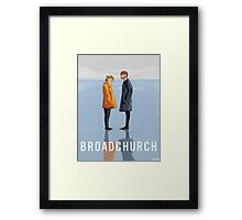 broadchurch Framed Print