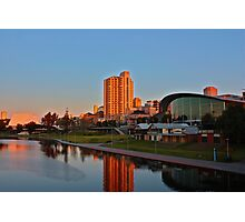 Adelaide River Precinct at Sunset Photographic Print