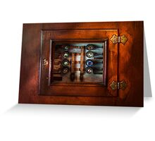 Steampunk - Electrical - The fuse panel Greeting Card