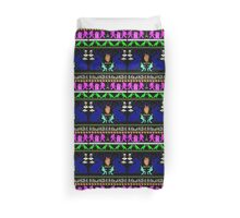 Eerie, Indiana ugly Christmas sweater Duvet Cover