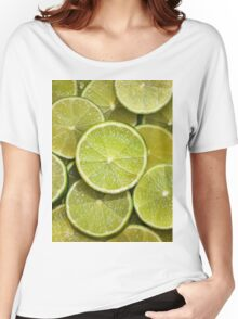 LIMES Women's Relaxed Fit T-Shirt
