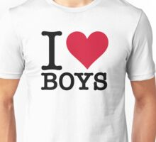 I love guys Unisex T-Shirt