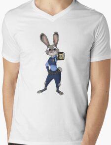 Judy Hopps Mens V-Neck T-Shirt
