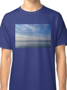 Blue Serenity - Soft Waves and Brushstrokes Classic T-Shirt