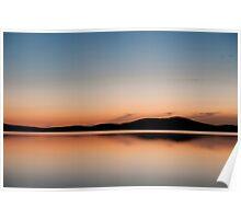 lake Gairdner Sunset Poster