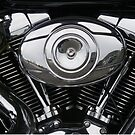 Harley Davidson V2 engine by BigAndRed