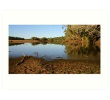Tranquil Waters  Art Print