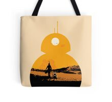 Star Wars The Force Awakens BB8 Poster Tote Bag