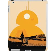 Star Wars The Force Awakens BB8 Poster iPad Case/Skin