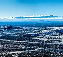 Central Oregon From Grizzly Butte by Richard Bozarth