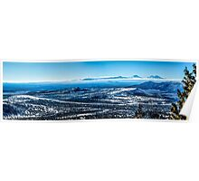 Central Oregon From Grizzly Butte Poster