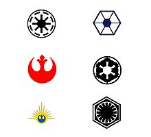 Star Wars Factions Photographic Print