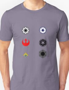 Star Wars Factions T-Shirt