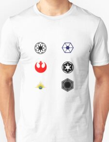 Star Wars Factions Unisex T-Shirt
