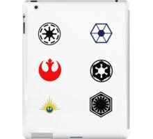 Star Wars Factions iPad Case/Skin