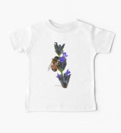 Bee on the Lavender Baby Tee