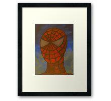Spiderman portrait Framed Print