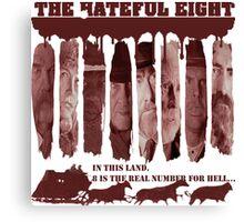 the hateful eight Canvas Print