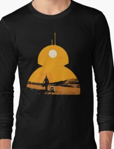 Star Wars The Force Awakens BB8 Poster Long Sleeve T-Shirt