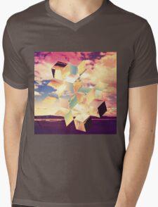Unravelling Mens V-Neck T-Shirt