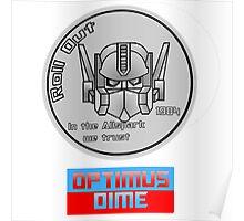 Optimus Dime Poster