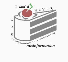 Misinformation Unisex T-Shirt