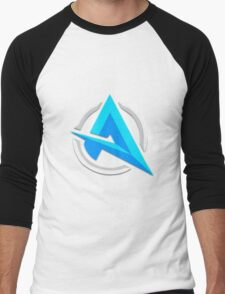 "Alia ""A"" | Logo/Design | White Background |  Men's Baseball ¾ T-Shirt"