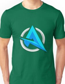 "Alia ""A"" | Logo/Design | White Background |  Unisex T-Shirt"