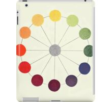 """Colour Circle"" chart, 1916 iPad Case/Skin"