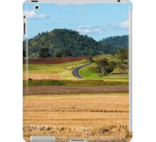 Outback agricultural and farming field iPad Case/Skin