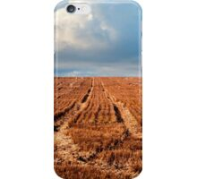 Outback agricultural and farming field iPhone Case/Skin