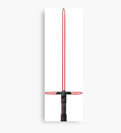 Kylo Ren Lightsaber Canvas Print