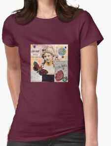 April In Paris Womens Fitted T-Shirt