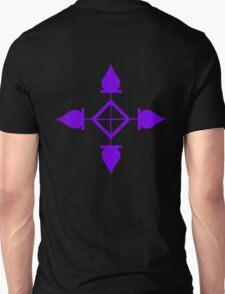 hunter x hunter chrollo lucilfer forehead tattoo anime manga shirt T-Shirt
