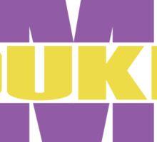 James Madison University - Dukes Split Sticker