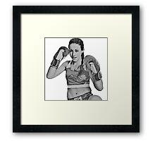 Joanna Jedrzejczyk Framed Print