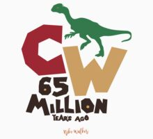 Cretaceous World - 65 Million Baby Tee
