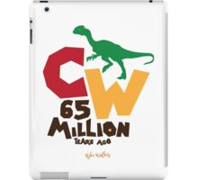 Cretaceous World - 65 Million iPad Case/Skin