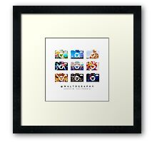 @waltography Framed Print