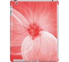 Red Fairy Blossom Fractal iPad Case/Skin