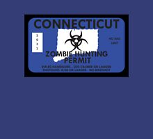 Zombie Hunting Permit - CONNECTICUT Unisex T-Shirt