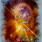 Hope, Joy and Peace in 2016 by Jane Neill-Hancock
