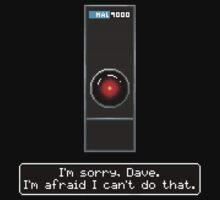 Pixel Hal 9000 by Jetpacksquirrel