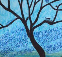 Mangrove Tree of Life Sticker