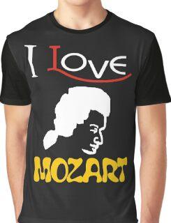 i love mozart Graphic T-Shirt