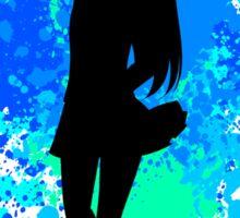 fairy tail wendy paint splatter anime manga shirt Sticker
