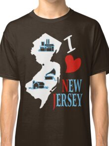 i love new jersey Classic T-Shirt
