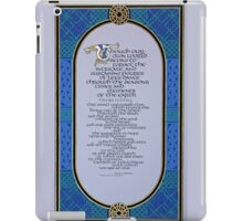 Celtic Wisdom iPad Case/Skin